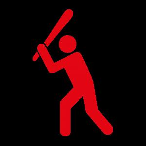 Piktogramm Baseball