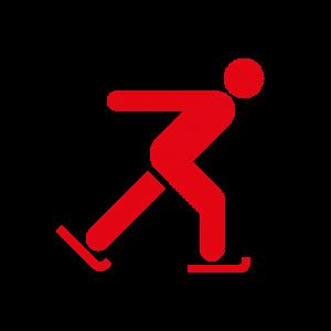 Piktogramm Eislaufen