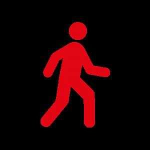 Piktogramm Gehen