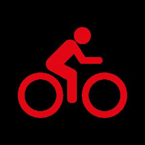 Piktogramm Radfahren